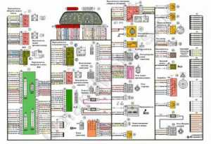 Схема блока предохранителей ваз 2114 1.6