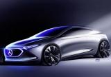 Как будет выглядеть будущий электрокар Mercedes
