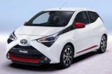 Оновлення Toyota aygo приносить більше енергії і покращився вишуканість