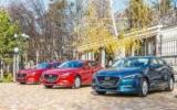 В Украине обновляется Mazda3 и Mazda6 — фоторепортаж