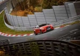 Jaguar XE стал богат седан Нюрбургринге