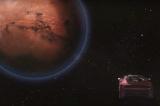 Важкої ракети spacex Falcon на старт Тесла родстер на Марс