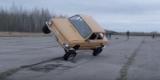 Летающий ЗАЗ: гонщик показал невероятные трюки?