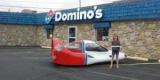 На продажу выставлен редкий авто-самолет службы доставки пиццы