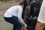 Вместо эвакуатора: в Киеве, горожане переехали в автокаде