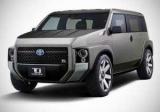 Toyota скрестила с Ван внедорожник