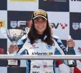Гонку британської Формули-3 вперше виграла дівчина